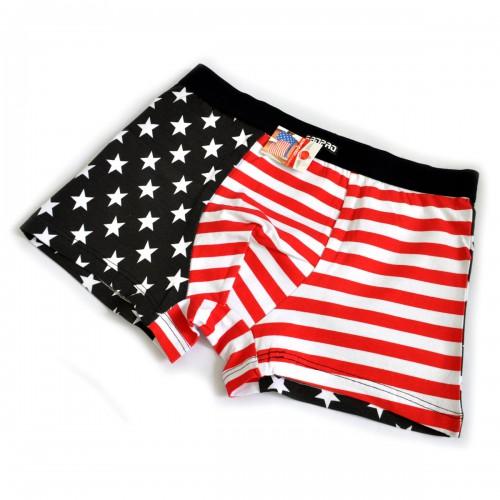 """Трусы мужские """"Флаг USA"""" (black)"""