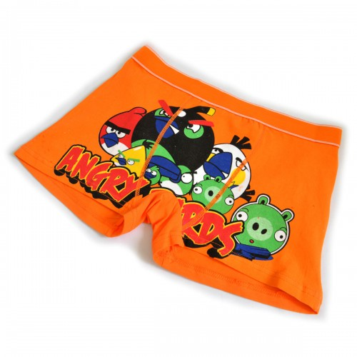 "Трусы мужские ""Angry Birds"" -2 (orange)"