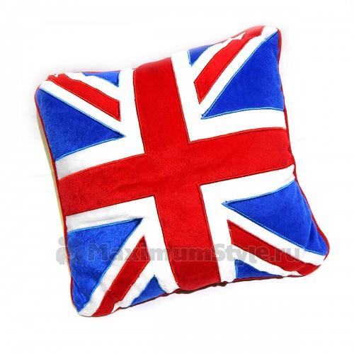 """Подушка автомобильная """"Британский флаг"""" -1"""
