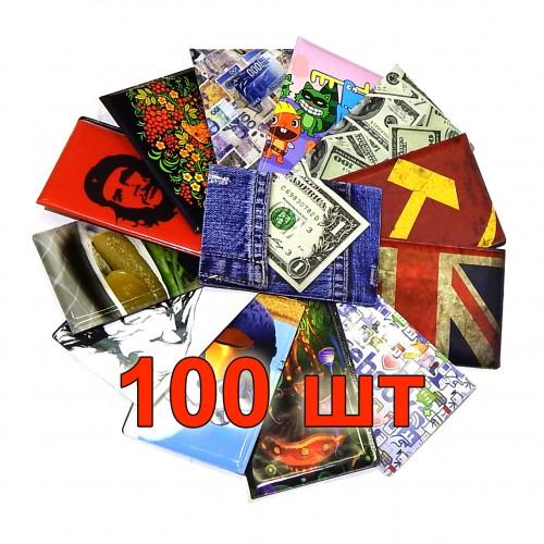 Обложки для паспорта в ассортименте, 100 шт.