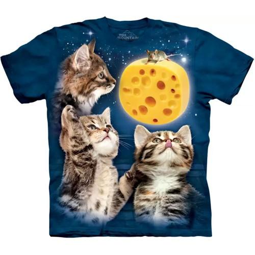 "Футболка ""Three Kitten Cheese Moon"" (США)"