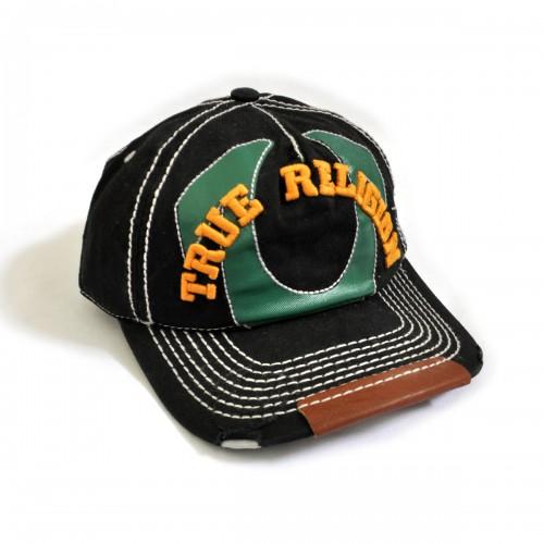 """Кепка-бейсболка с вышивкой """"True Religion"""" -4"""