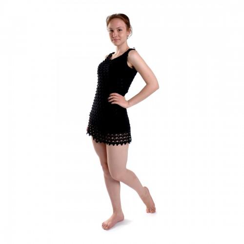 Платье пляжное (black)
