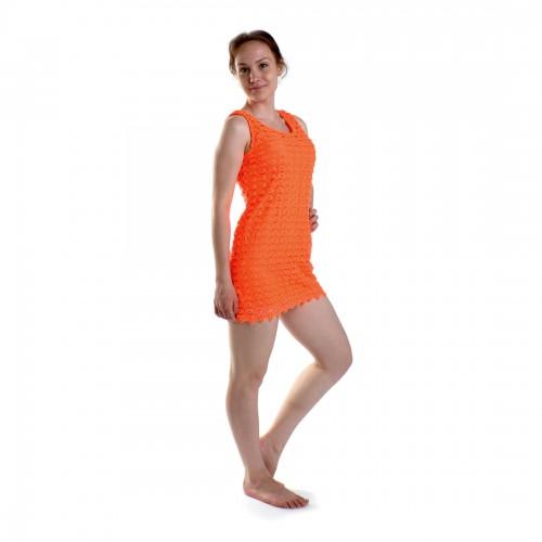 Платье пляжное (orange)