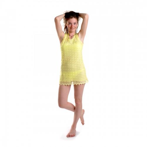 Платье пляжное (yellow)