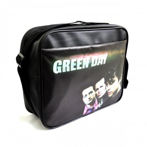 "Сумка горизонтальная ""Green Day"""