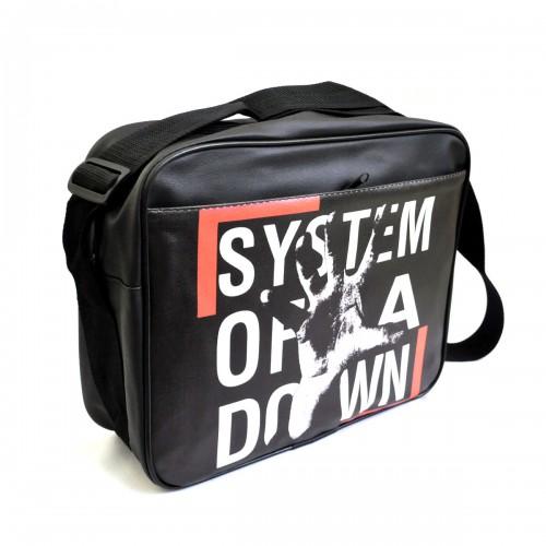 "Сумка горизонтальная ""System of a down"""