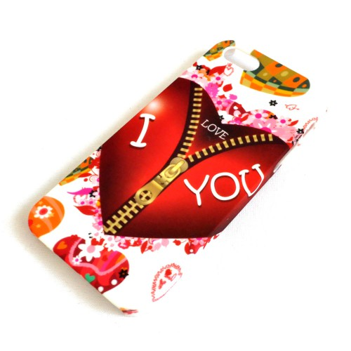 "Чехол для iPhone 5/5s ""I love you"" -2"