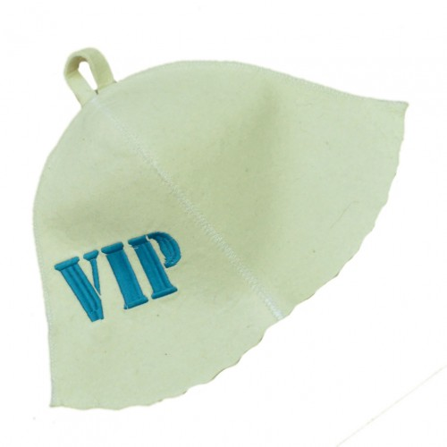"""Шапка для бани """"VIP"""""""