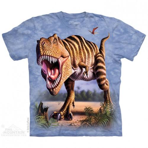 "Футболка The Mountain ""Striped Rex Walk"" (детская)"