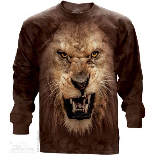 """Футболка с длиным рукавом """"Big Face Lion"""" (США)"""