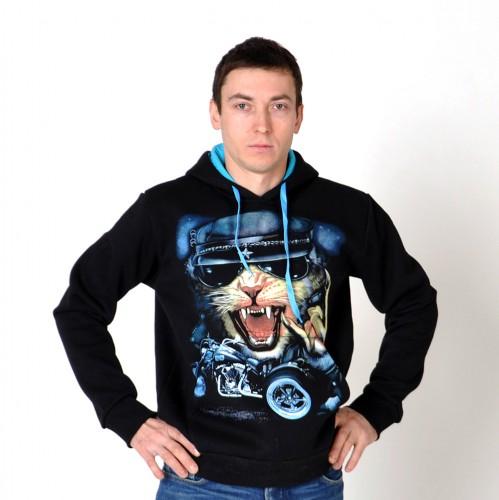 "Толстовка ""Cat-biker"""