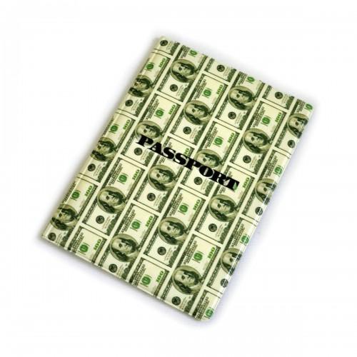 """Обложка для паспорта """"100 долларов"""""""