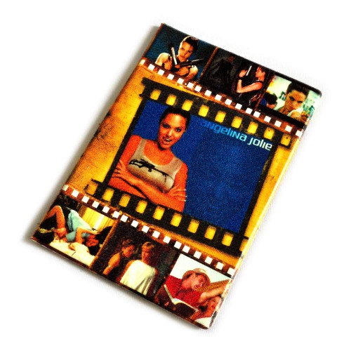 """Обложка для автодокументов """"Angelina Jolie"""" -5"""