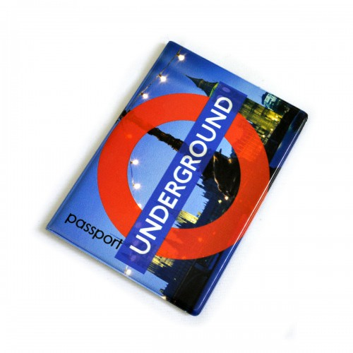 """Обложка для паспорта """"Underground"""""""