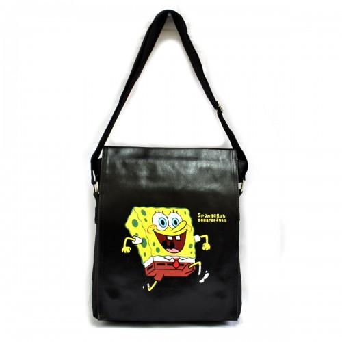 "Сумка молодежная ""Sponge Bob"" -02"