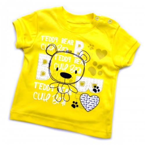 """Футболка для девочки """"Teddy Bear"""" - 01"""