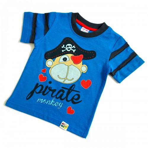 "Футболка детская ""Пират"" -02 (turquoise)"