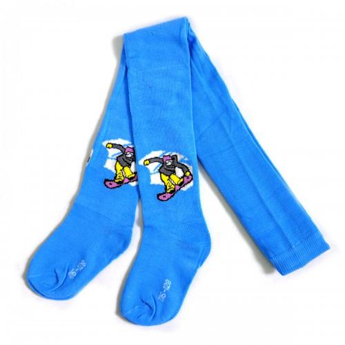 """Колготки детские """"Скейтборд"""" (blue)"""