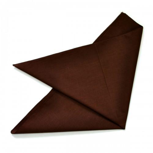 Бандана коричневая (без изображения)