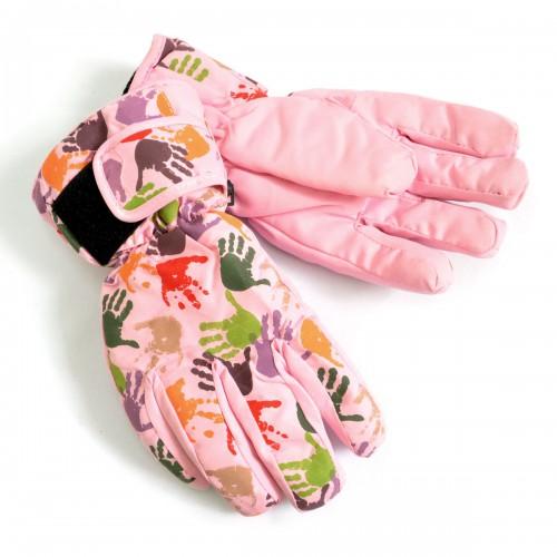 """Перчатки женские подроствовые """"Краски"""" (розовый)"""