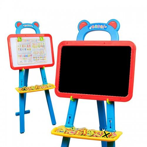 "Магнитная доска для рисования и обучения на подставке с аксессуарами ""Easer"""