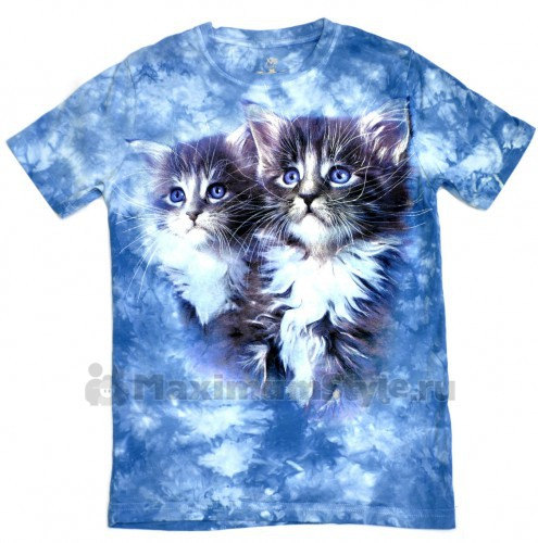 "Футболка детская ""Два котенка"""