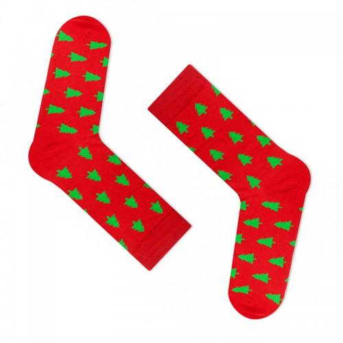 """Модные носки """"Здравствуй, Новый год!"""" (премиум)"""
