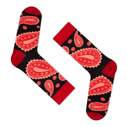 """Модные носки """"Пикантная паприка"""" (премиум)"""