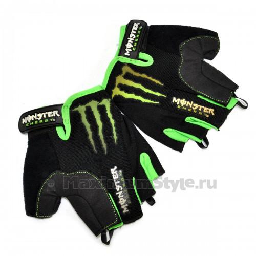"Перчатки спортивные ""Monster Energy"" -01"