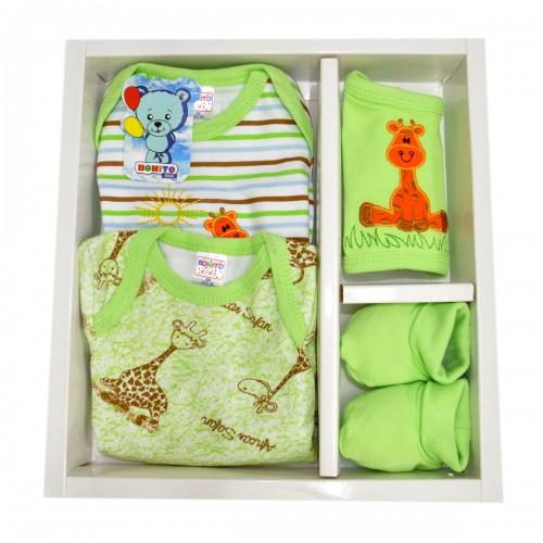 """Набор подарочный, для новорожденного """"Жираф"""" -01"""