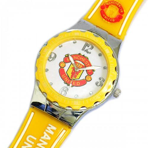 Наручные часы с эмблемой фк Манчестер Юнайтед купить