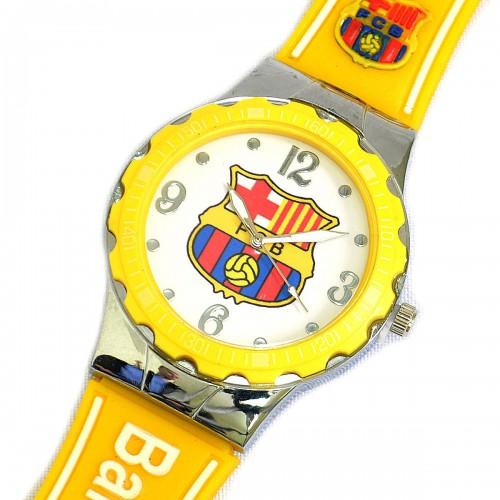 """Часы футбольные """"FC Barcelona"""""""