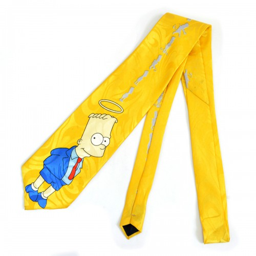 """Галстук """"Семейка Симпсонов (Bart Simpson) -1"""""""