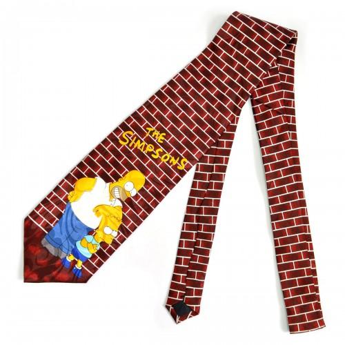 """Галстук """"Семейка Симпсонов (Bart Simpson)"""" -6"""
