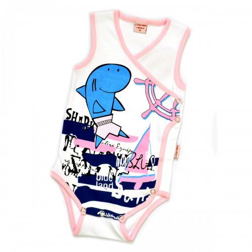"""Боди """"Shark"""" (pink)"""