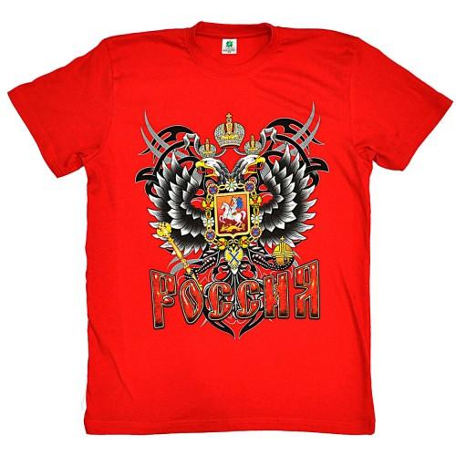 "Футболка ""Герб России"" (red)"