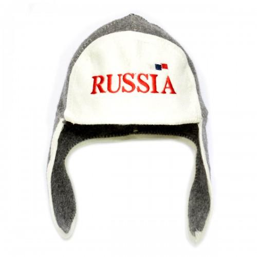 "Шапка для бани ""Russia"""