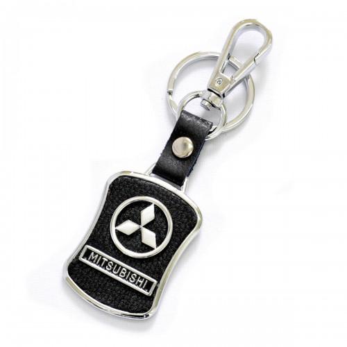 """Брелок на автоключи с логотипом """"MITSUBISHI"""""""