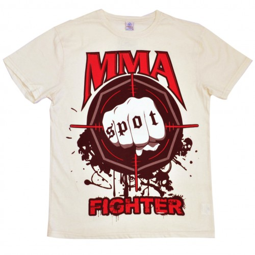 "Футболка ""MMA Fighting"" (beige)"