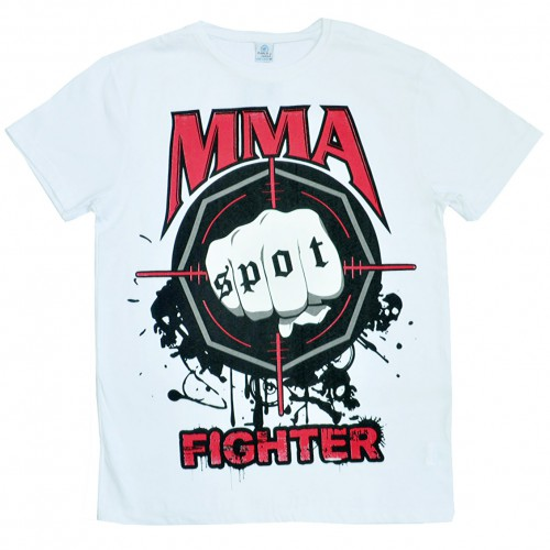 "Футболка ""MMA Fighting"" (white)"