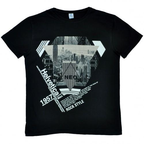 "Футболка ""Rock Style"" (black)"
