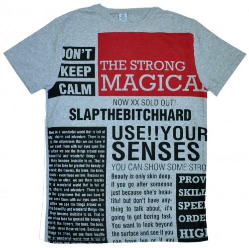 "Футболка ""The Strong Magica"" (gray)"