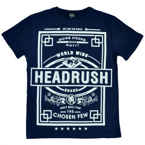 "Футболка ""Headrush"" (blue)"