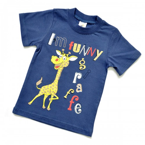 "Футболка детская ""I'm funny giraffe"""