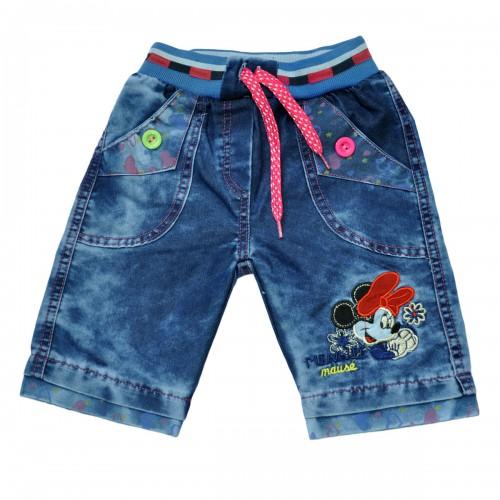 """Шорты джинсовые для девочки """"Minni Mouse"""""""