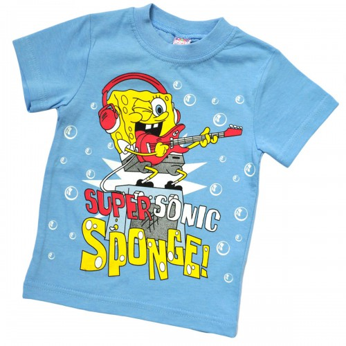 "Футболка детская ""Sponge Bob"" (Super Sonic)"