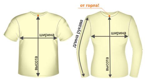 ИЗМЕРЬТЕ РАЗМЕР СВОЕЙ ФУТБОЛКИ! размеры футболок.
