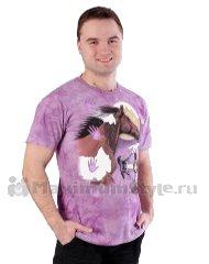 мужские розовые футболки